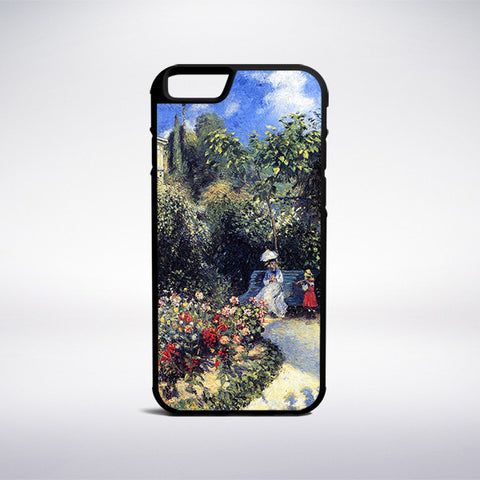 Camille Pissarro - In The Garden Of Les Mathurins At Pontoise Phone Case | Muse Phone Cases