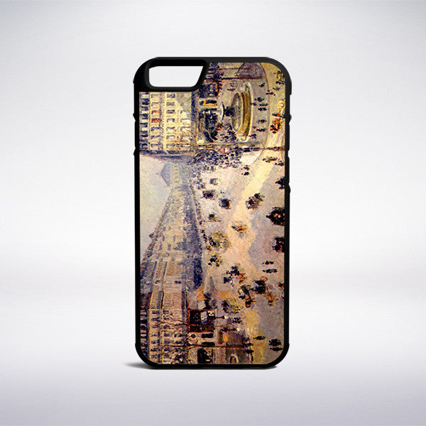 Camille Pissarro - The Avenue Of The Opera Phone Case | Muse Phone Cases