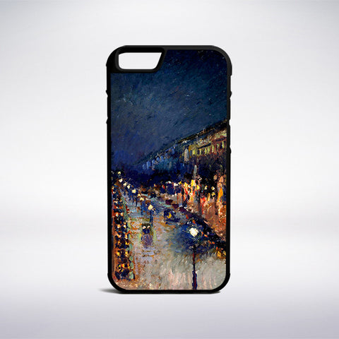 Camille Pissarro - The Boulevard Montmartre At Night Phone Case | Muse Phone Cases