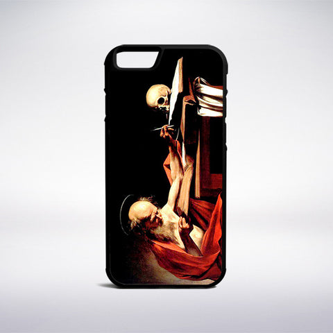 Caravaggio - Saint Jerome Writing Phone Case | Muse Phone Cases