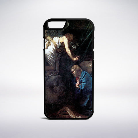 Caravaggio - Annunciation Phone Case | Muse Phone Cases