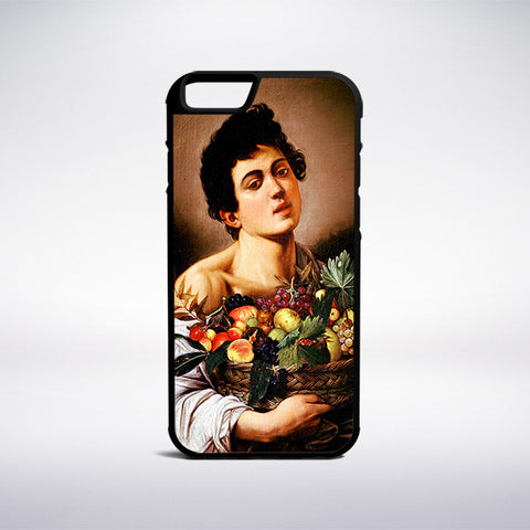 Caravaggio - Boy With A Basket Of Fruit Phone Case | Muse Phone Cases