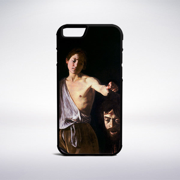 Caravaggio - David With The Head Of Goliath Phone Case | Muse Phone Cases