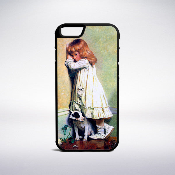 Charles Burton Barber - In Disgrace Phone Case | Muse Phone Cases