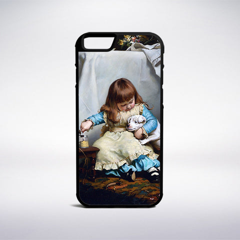 Charles Burton Barber - Once Bit, Twice Shy Phone Case | Muse Phone Cases