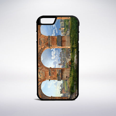 Christoffer Wilhelm Eckersberg - Three Arches Of The Colosseum Phone Case | Muse Phone Cases