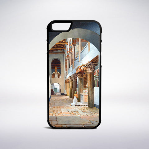 Christoffer Wilhelm Eckersberg - The Church Of San Lorenzo Fuori Lemura Phone Case | Muse Phone Cases