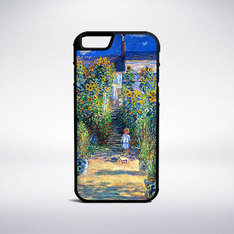 Claude Monet - The Artist's Garden At Vetheuil Phone Case | Muse Phone Cases