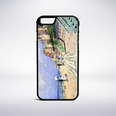 Claude Monet - The Boardwalk At Trouville Phone Case | Muse Phone Cases