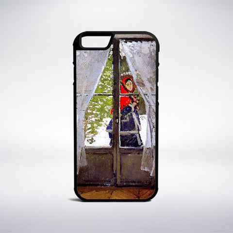 Claude Monet - The Red Kerchief Phone Case | Muse Phone Cases