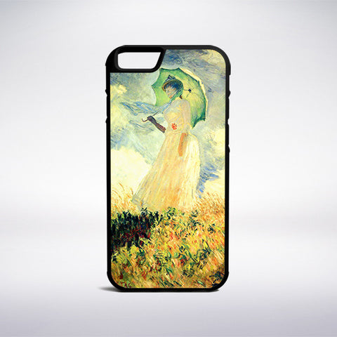 Claude Monet - Woman With A Parasol Phone Case | Muse Phone Cases