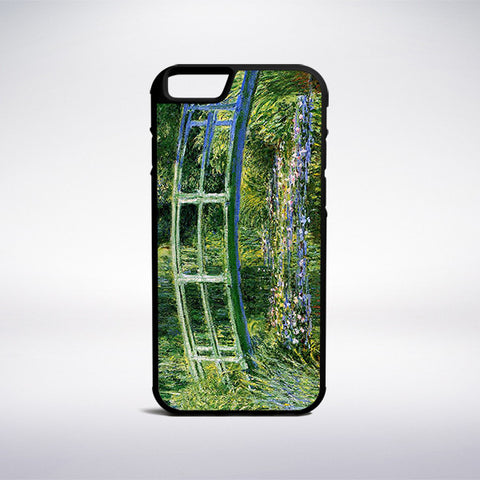 Claude Monet - Bridge Over A Pond Of Water Lilies Phone Case | Muse Phone Cases