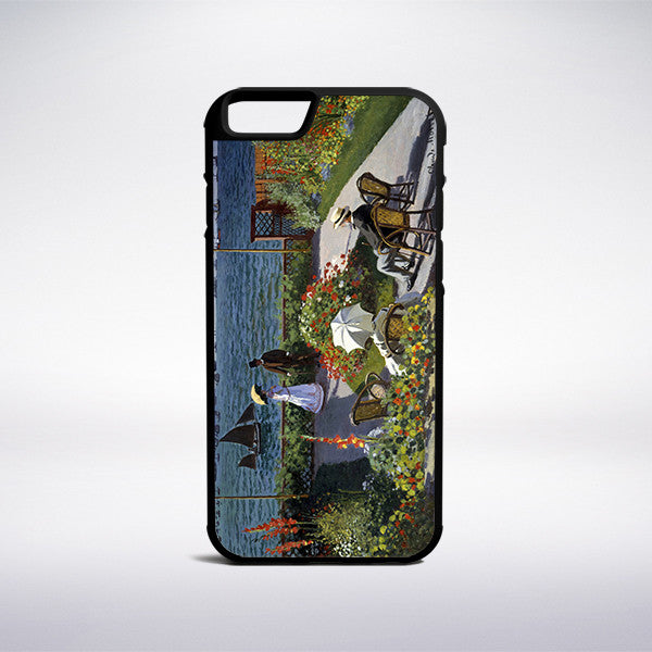 Claude Monet - Garden At Sainte Adresse Phone Case | Muse Phone Cases