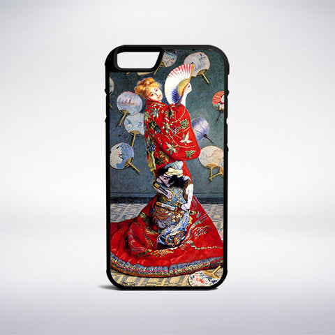 Claude Monet - Madame Monet In A Japanese Kimono Phone Case | Muse Phone Cases