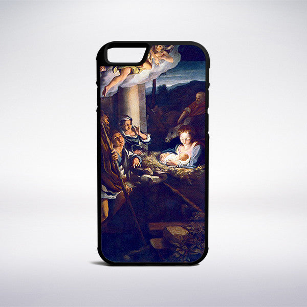 Correggio - Adoration Of The Shepherds The Holy Night Phone Case | Muse Phone Cases