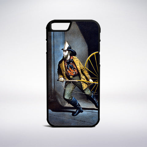 Currier And Ives - The American Fireman Phone Case | Muse Phone Cases