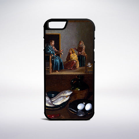Diego Velazquez - Christ In The House Of Martha And Mary Phone Case | Muse Phone Cases