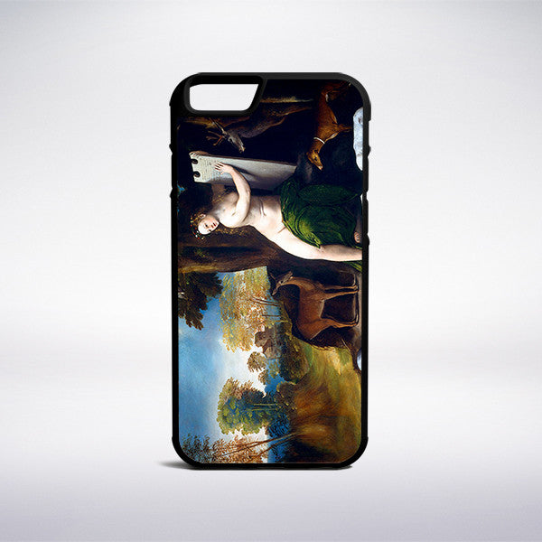 Dosso Dossi - Circe And Her Lovers In A Landscape Phone Case | Muse Phone Cases