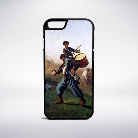 Eastman Johnson - Study For The Wounded Drummer Boy Phone Case | Muse Phone Cases