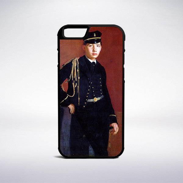 Edgar Degas - Achille De Gas In The Uniform Of A Cadet Phone Case | Muse Phone Cases