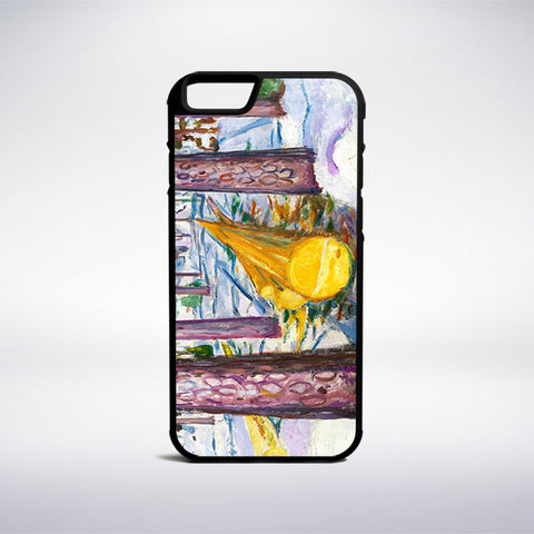 Edvard Munch - The Yellow Log Phone Case | Muse Phone Cases