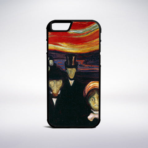 Edvard Munch - Anxiety Phone Case | Muse Phone Cases