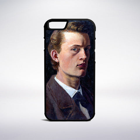 Edvard Munch - Self-Portrait Phone Case | Muse Phone Cases