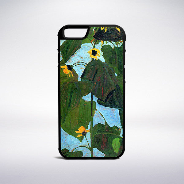 Egon Schiele - Sunflower Phone Case - Muse Phone Cases