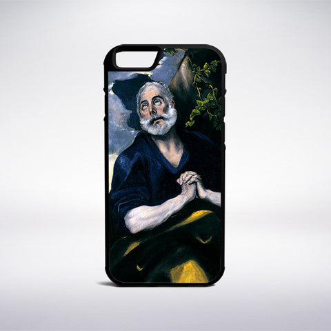El Greco - Saint Peter In Penitence Phone Case - Muse Phone Cases