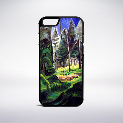 Emily Carr - A Rushing Sea Of Undergrowth Phone Case - Muse Phone Cases