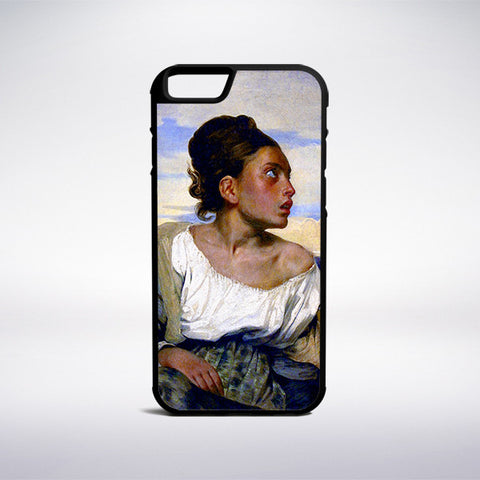 Eugene Delacroix - Orphan Girl At The Cemetery Phone Case - Muse Phone Cases