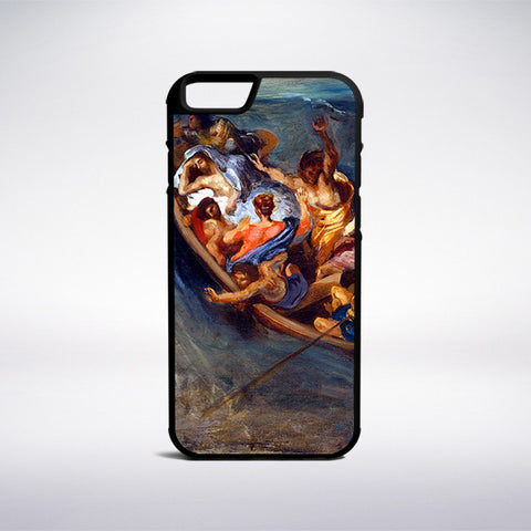 Eugene Delacroix - Christ On The Sea Of Galilee Phone Case - Muse Phone Cases