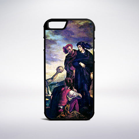 Eugene Delacroix - Hamlet With Horatio Phone Case - Muse Phone Cases