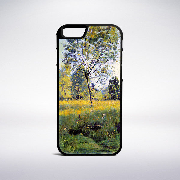 Ferdinand Hodler - The Golden Meadow Phone Case - Muse Phone Cases