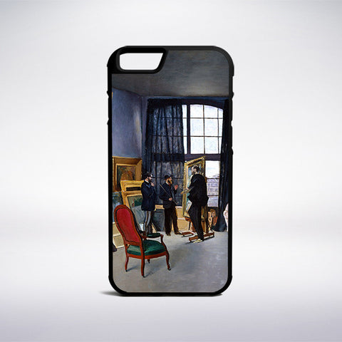 Frederic Bazille - Bazille's Studio (9 Rue De La Condamine) Phone Case - Muse Phone Cases
