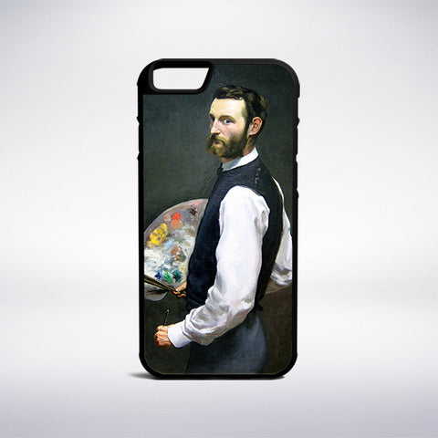 Frederic Bazille - Self-Portrait Phone Case - Muse Phone Cases