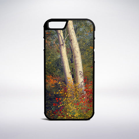 Frederic Edwin Church - Birch Trees In Autumn Phone Case - Muse Phone Cases