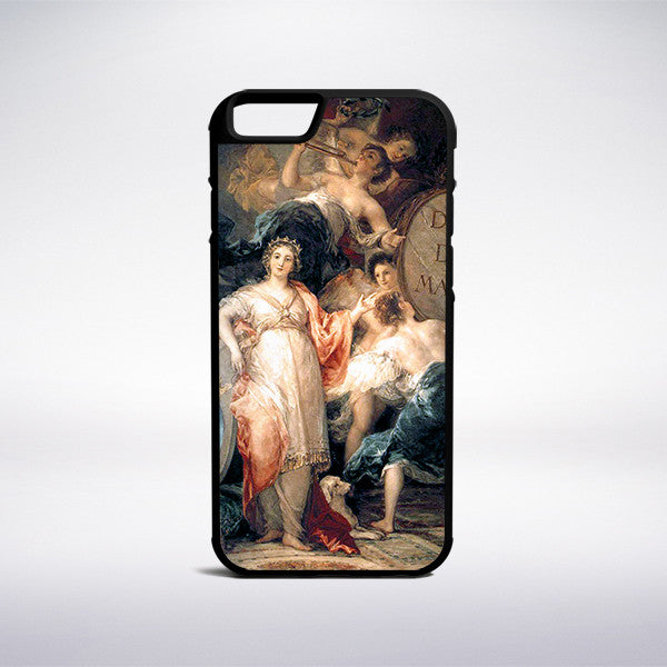 Francisco Goya - Allegory Of The City Of Madrid Phone Case - Muse Phone Cases