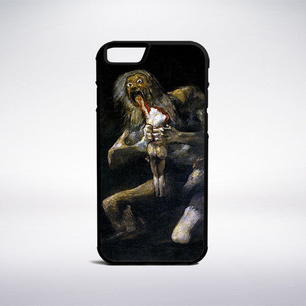 Francisco Goya - Saturn Devouring His Son Phone Case - Muse Phone Cases