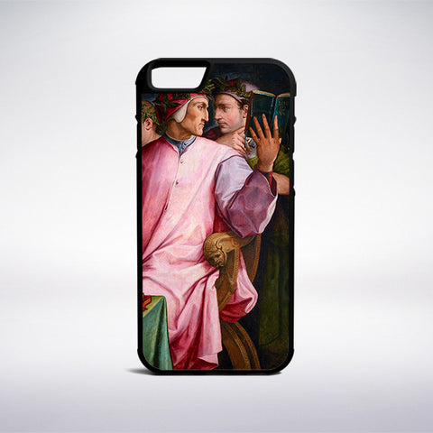 Giorgio Vasari - Six Tuscan Poets Phone Case - Muse Phone Cases