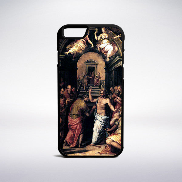 Giorgio Vasari - The Incredulity Of Saint Thomas Phone Case - Muse Phone Cases