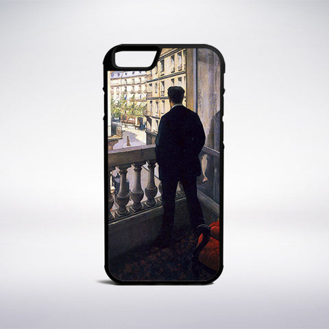Gustave Caillebotte - Man At The Window Phone Case - Muse Phone Cases