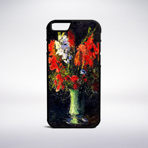 Gustave Caillebotte - Vase Of Gladiolas Phone Case - Muse Phone Cases