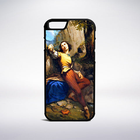 Gustave Courbet - The Sculptor Phone Case - Muse Phone Cases