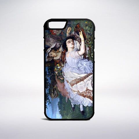 Gustave Courbet - Young Ladies On The Banks Of The Seine Phone Case - Muse Phone Cases