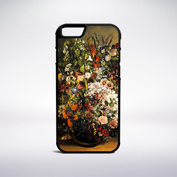 Gustave Courbet - Bouquet Of Flowers Phone Case - Muse Phone Cases
