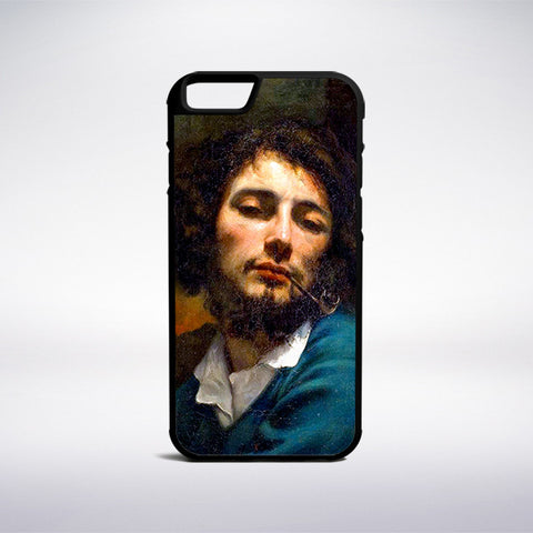 Gustave Courbet - Self-Portrait With Pipe Phone Case - Muse Phone Cases