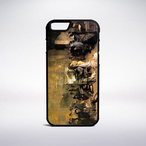 Gustave Courbet - The Artist's Studio Phone Case - Muse Phone Cases
