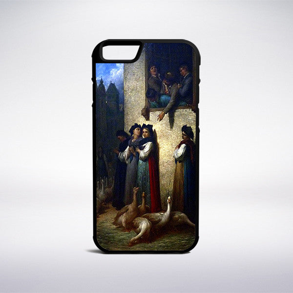 Gustave Dore - Soir En Alsace Phone Case - Muse Phone Cases