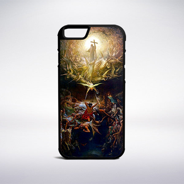 Gustave Dore - The Triumph Of Christianity Over Paganism Phone Case - Muse Phone Cases